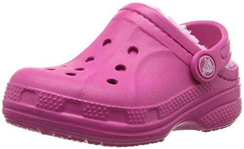 Crocs Winter Clog Kids, Sabots Mixte Enfant, Rose (Candy Pink/carnation) 32/33 EU