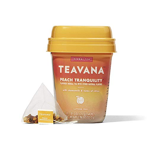 Teavana Peach Tranquility, Herbal Tea With Chamomile and Notes of Citrus Pack - 3