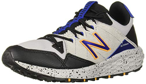 New Balance Boys' Craig V1 Running Shoe, rain Cloud/Black/Team Royal, 1 M US Little Kid