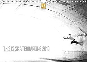 skateboarding calendar 2019