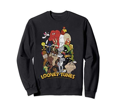 Looney Tunes Character Stack Group Shot Sweatshirt