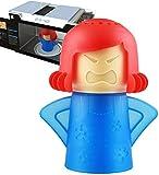 Abnaok Limpiador de microondas, 1 herramienta de limpieza de vapor de horno de microondas Angry...