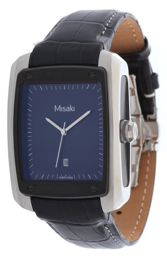 Misaki Damen-Armbanduhr Analog Quarz Edelstahl QCRW7E