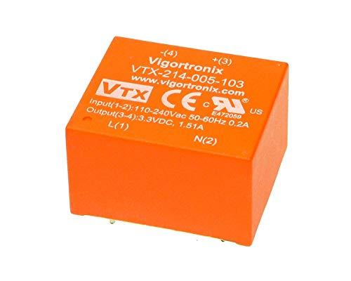 Vigortronix VTX-126-020-418 Chassis Transformer 2x115V 20VA18V+18V