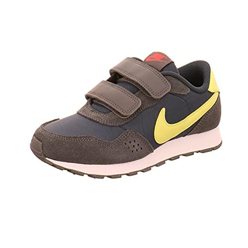 Nike Md Valiant (PSV) Sneaker, Deep Ocean/Limelight-Iron Grey, 35 EU
