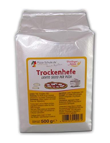 Frießinger Mühle Trockenhefe 500g   Hefe Backhefe Bäckerhefe   Ideal für Brot, Pizza, Fladenbrot, Gebäck