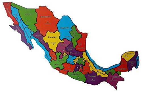GRR Rompecabezas Mapa de México