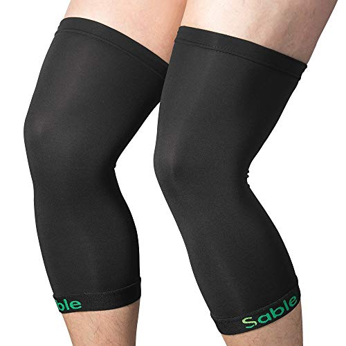 Sable Knee Brace Support Compression Wraps Running Accessories Knee Braces for Women Ankle Brace (M)