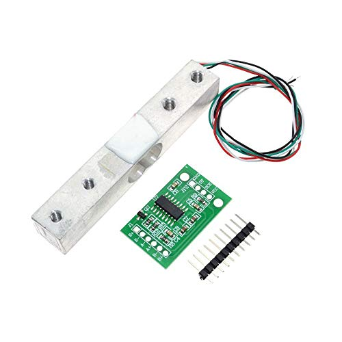 ARCELI HX711 ADC Convertidor Módulo Breakout Digital Sensor de Peso de la célula de Carga 1 KG Balanza de Cocina electrónica portátil, DIYmall para pesaje de Peso de célula de Carga
