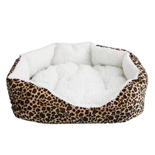 Nis Pressure Washer Power Washer HR1022 Soft Cotton Pet Dog Puppy Warm Waterloo Bed Nest with Print Brown