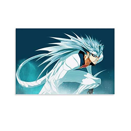 SHADIAO Anime-Poster Grimmjow Jaggerjack BLEACH Anime Arrancar Espada Nr. 6 Destroy Pantera (3) Kunstdruck auf Leinwand, modernes Design, 30 x 45 cm