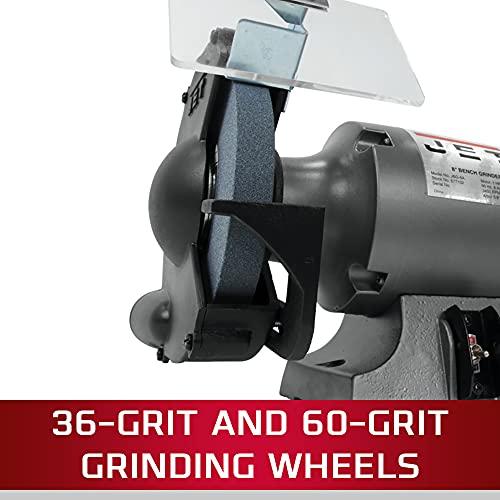 JET JBG-8B, 8-Inch Bench Grinder (577102)