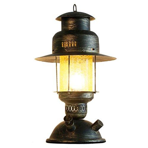 CCLL Estudio Dormitorio Lámpara de Noche Hierro Lámpara Decorativa Antigua Nostalgic Creative Inn Hostel Reading Lamp