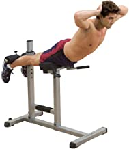 Body-Solid GRCH322 Roman Chair for Abdominal and Core Training, Home and Commercial Gym