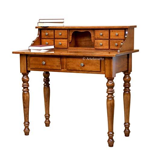 Artigiani Veneti Riuniti Schreibtisch mit Aufsatz und Schubladen