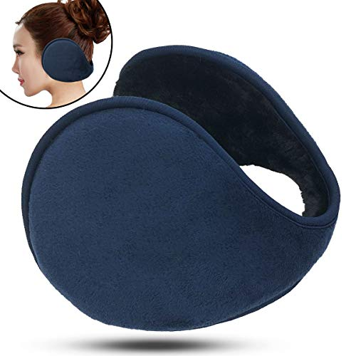 Thermal Ear Muff Retractable winter lovely smiling face Plush warm ear muffle ear bag gift