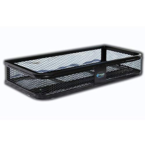 Titan Universal Front ATV Hd Steel Cargo Basket Rack Luggage Carrier fb2020
