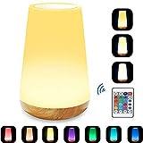 Caxmtu LED Kinderzimmer Nachtlicht Touch Lampe Nachttischlampe für Kinder Schlafzimmer...