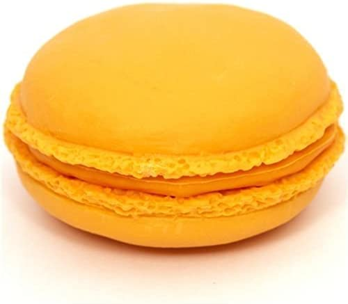 Orange macaroon eraser French Pastry from Japan by Iwako by Iwako