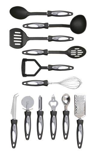 Premier Housewares 0806296 Set Utensili, Acciaio