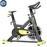 FitBike Indoor Cycle Race Magnetic Pro - 22 kg Schwungrad - Poly V-Riemen und Magnetisches...