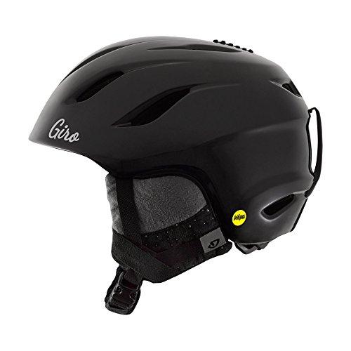 GIRO ERA MIPS 2015/16 Damen Snowboardhelm Skihelm Ski Snowboard Helm 240070(S/52-55,5cm,BLACK HEREAFTER - schwarz glänzend)