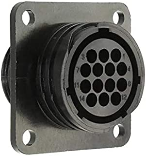 TE CONNECTIVITY 206043-1 CPC Series 1 Panel Mount Receptacle 14 Position Circular Plastic Connector - 5 item(s)