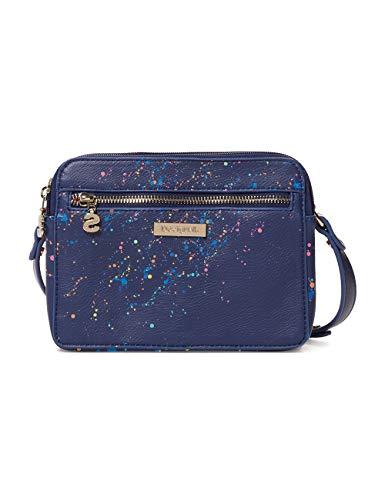 Desigual Damen Bag Siracusa Edson Women Umhängetasche, Blau (Marino), 8x14.5x19.5 cm