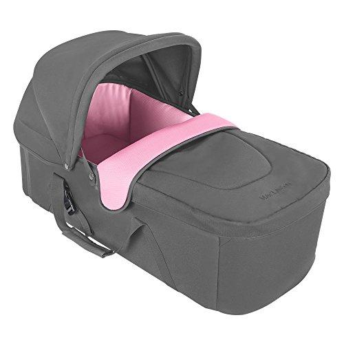 Maclaren - Capazo XLR gris/rosa