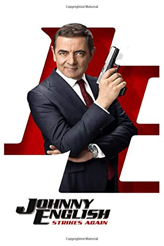 Johnny English Strikes Again: Mr bean fans notebook journal gift