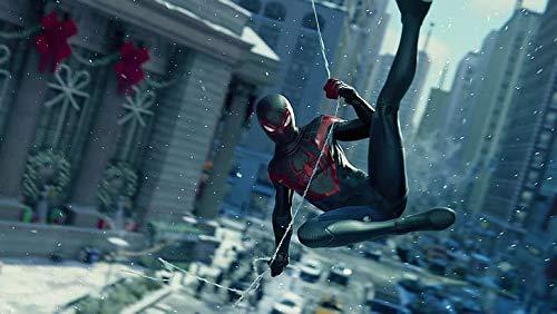 Empire - Póster de la web de Spiderman Miles Morales Playstation 5, acabado mate, 30,5 x 45,7 cm, multicolor