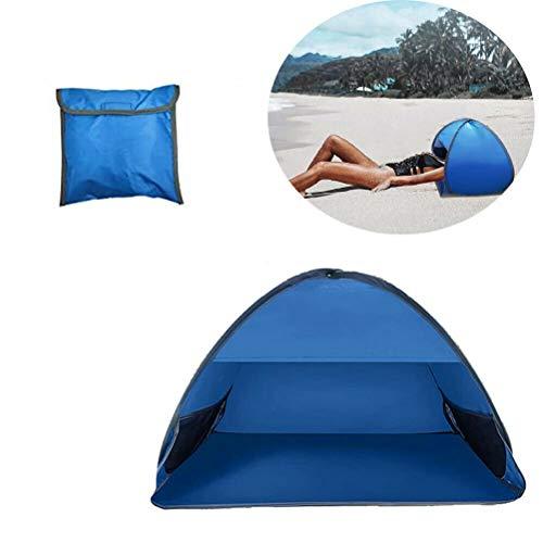 WBTY Pop-Up-Strandzelt, Outdoor, tragbar, Sonnenschutz, Baldachin, Mini Automatik öffnend, Strandmuschel, Sonnenschutz für Gesicht