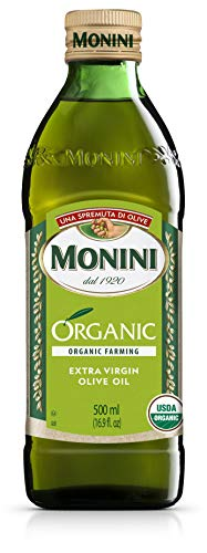 Monini Organic Extra Virgin Olive Oil, 500 ml