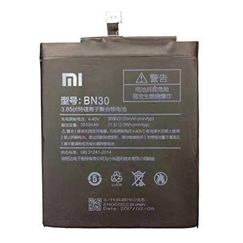 Todobarato24h Bateria Compatible con Xiaomi Mi 4a, Redmi 4a, BN30 3030 Mah