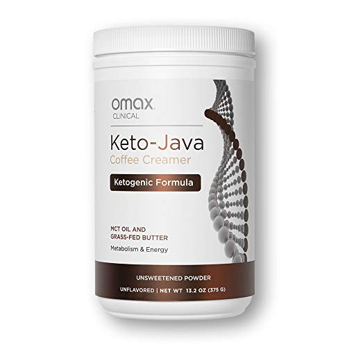 OMAX® Keto Coffee Creamer MCT Oil + Coconut Oil I Grass Fed Butter Coffee Creamer I Creamy, Unflavored Low-Carb Powdered Creamer for Coffee, Lattes   Keto Product, Boost Ketogenic Energy & Metabolism