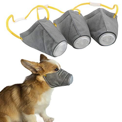 WPCASE Maulkorb Kleine Hunde Maulkorb FüR GroßE Hunde GiftköDerschutz Hund GiftköDer Maulkorb Maulkorb Maulkorb Mittlere Hunde Maulkorb Für Kleine Hund Hund Maulkorb Kleine 3pcs,m