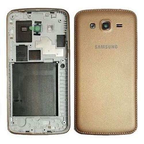 Backer The Brand Full Body Housing Panel for Samsung Galaxy Grand 2/ Grand2 G7106 / G7102 - Gold