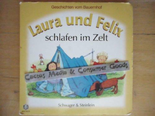 Laura und Felix schlafen im Zelt [Geschichten vom Bauernhof]