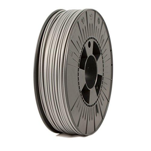 ICE Filaments ICEFIL3PLA133 PLA filament, 2.85mm, 0.75 kg, Sparkling Silver