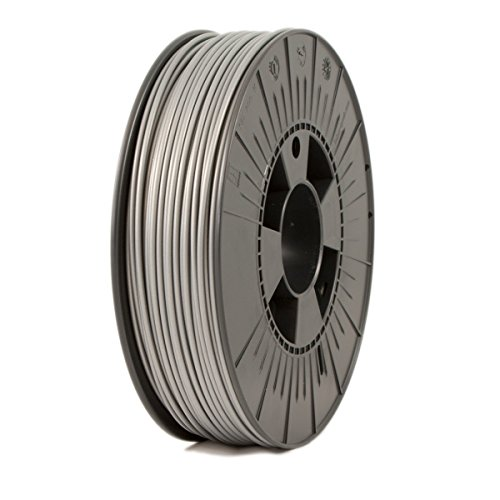ICE Filaments® PLA filament, 2.85mm, 0.75 kg, Sparkling Silver