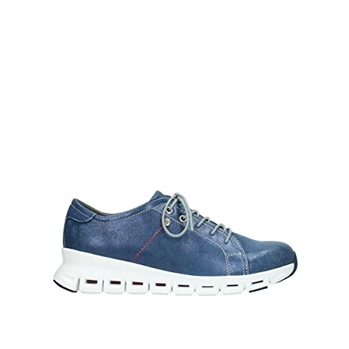 Wolky Comfort Sneakers Mega - 70800 blau Leder - 38