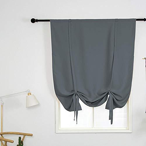 cortinas cortas romanas