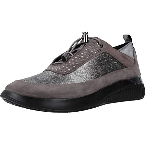 Calzado Deportivo para Mujer, Color Gris, Marca GEOX, Modelo Calzado Deportivo para...