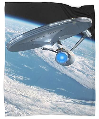 Enterprise | Star trek Starships, Star Trek Ships Manta de viaje suave de microfibra lavable y ligera mantas para cama sofá silla sofá sofá hogar decorativo mantas 127 x 152 cm