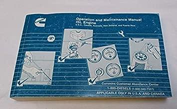 Operation and Maintenance Manual Cummins ISL Engine (Bulletin 3666399-00)