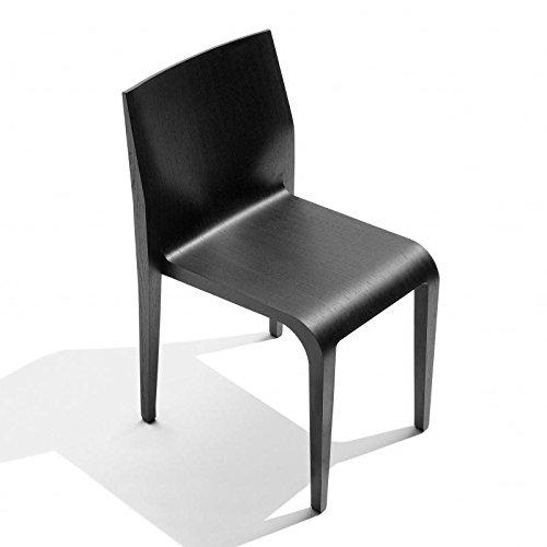 Alias 301 Laleggera Stuhl, schwarz gebeizt BxHxT 44x79x49cm