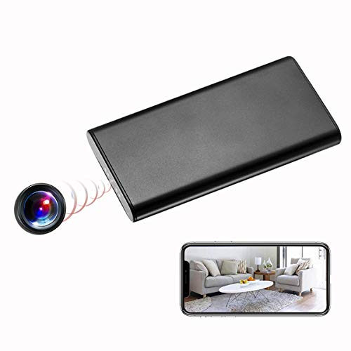 KAMRE 1080P 10000mAh Portable WiFi Power Bank Hidden Spy Camera Nanny Cam...