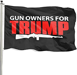 FSFLAG Donald Trump Flag for President 2020 - Keep America Great Flag 3x5 Foot with Two Brass Grommets - No More Bullshit Flag for Outdoor (Trump9)