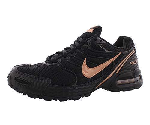 Nike Women's Air Max Torch 4 Running Shoes (9.5 B(M) US, Black/Volt Pink)