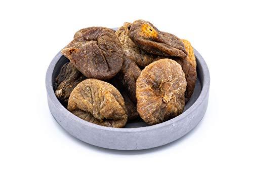 Figues grosses BIO 1 kg qualité supérieure, biologiques, aromatiques, cru, sans sucre ajouté, pur et sans additifs, séchées aux soleil 1000g